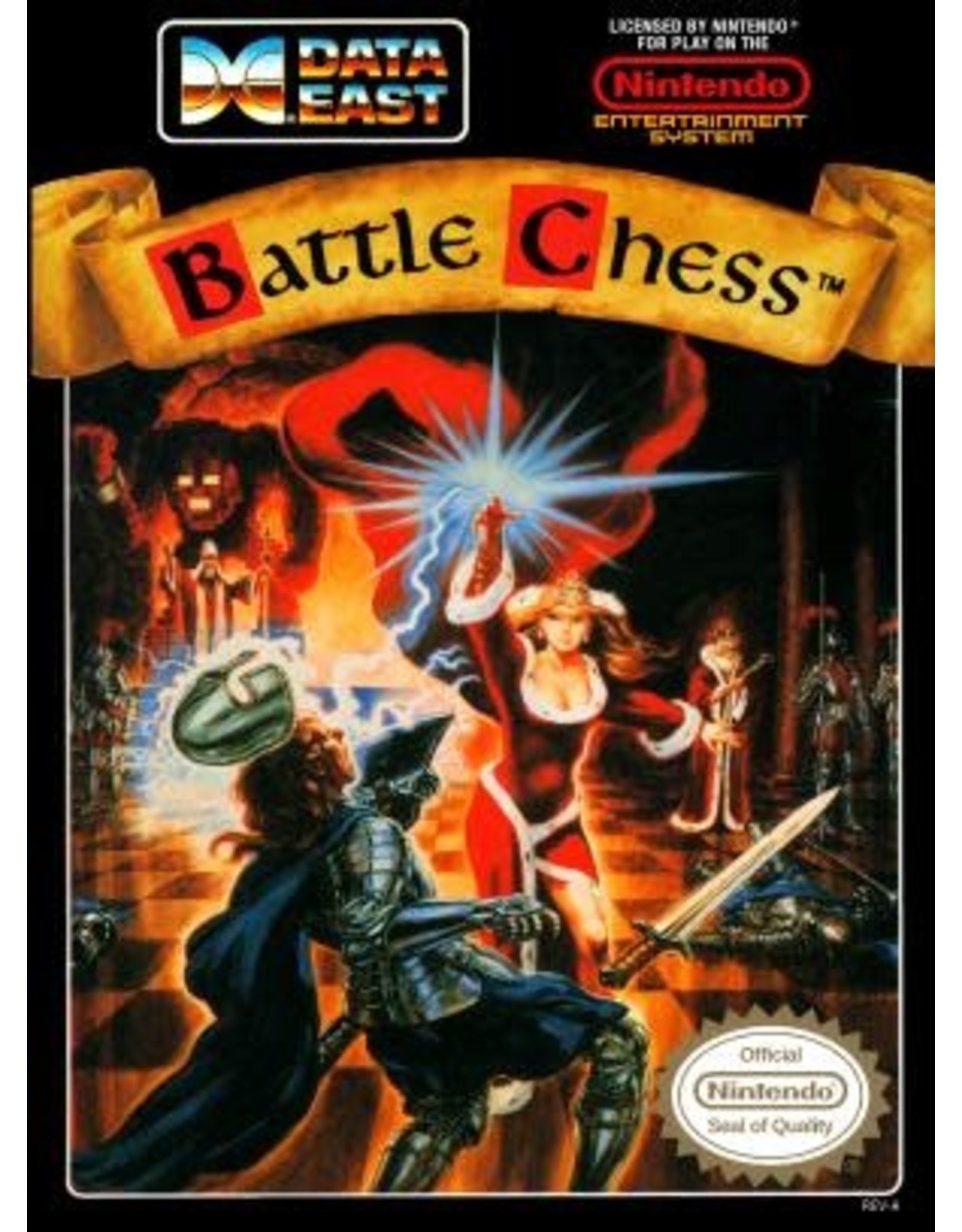 NES Battle Chess (Cart Only)