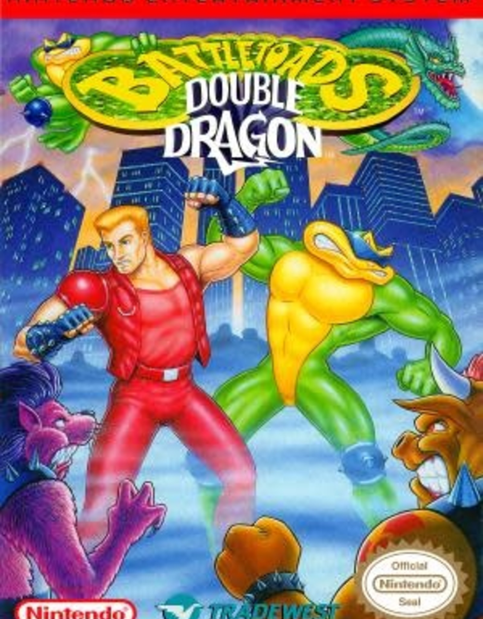 NES Battletoads and Double Dragon The Ultimate Team (Cart Only)