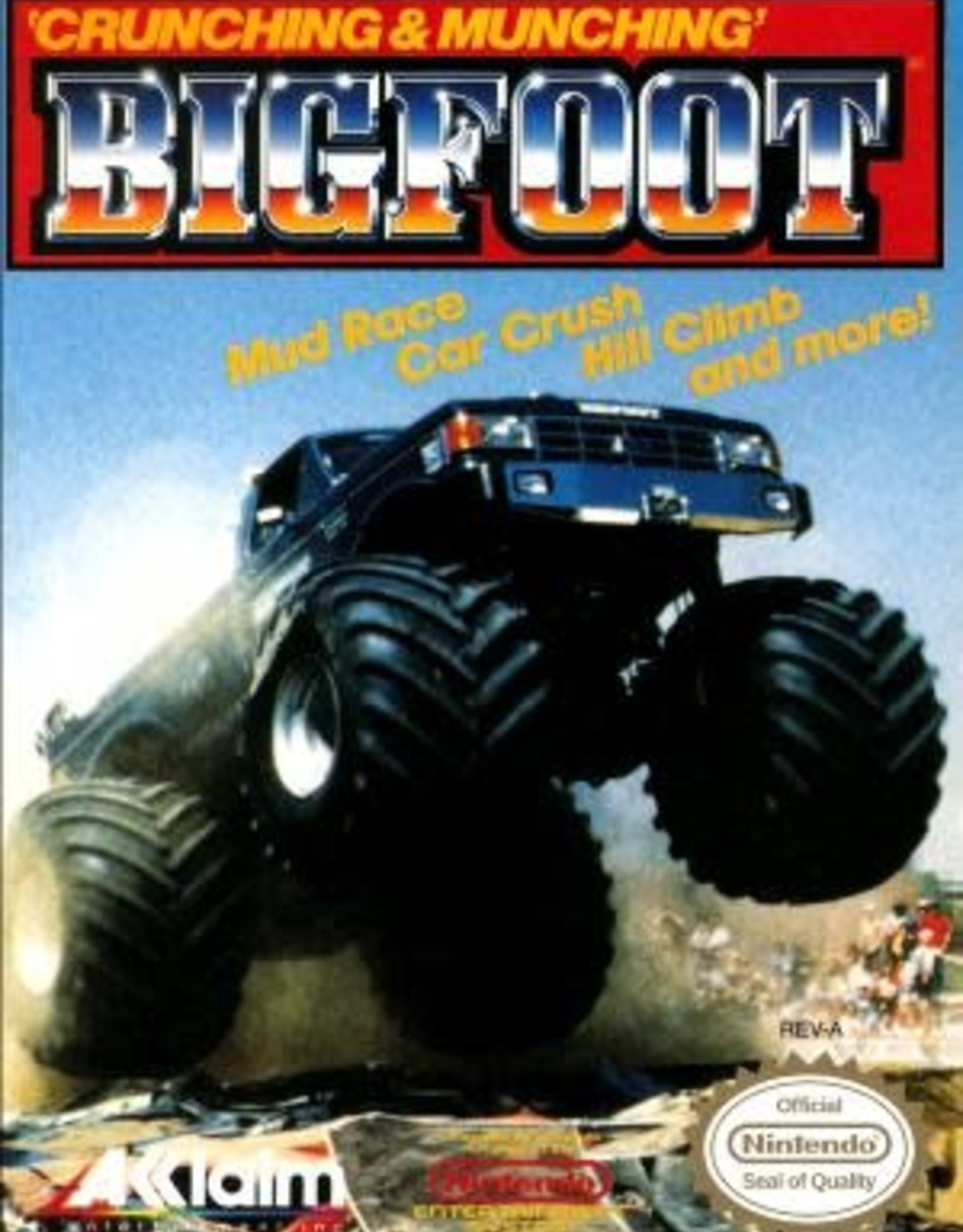 NES Bigfoot (Cart Only)