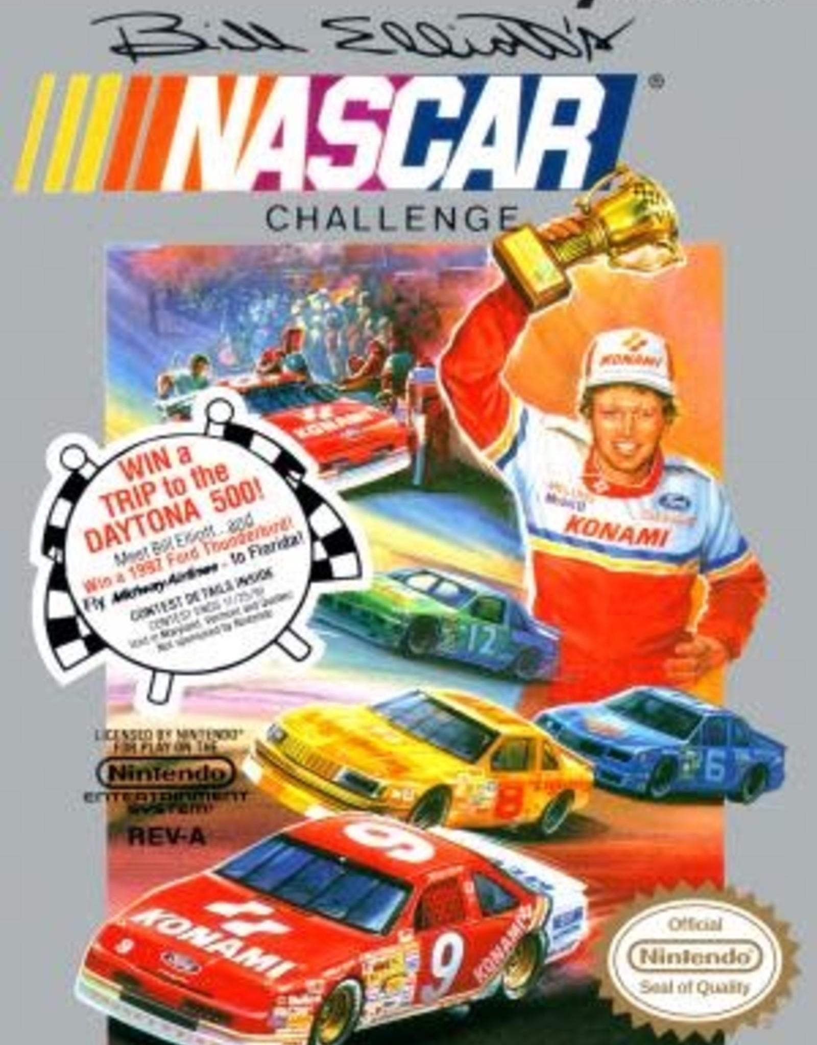 NES Bill Elliott's NASCAR Challenge (Cart Only)