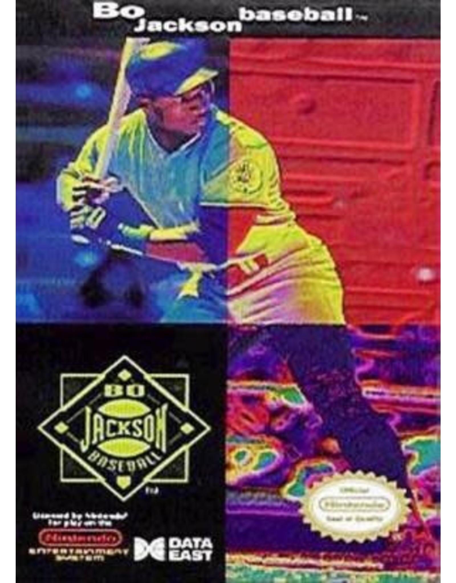 NES Bo Jackson Baseball (Cart Only)