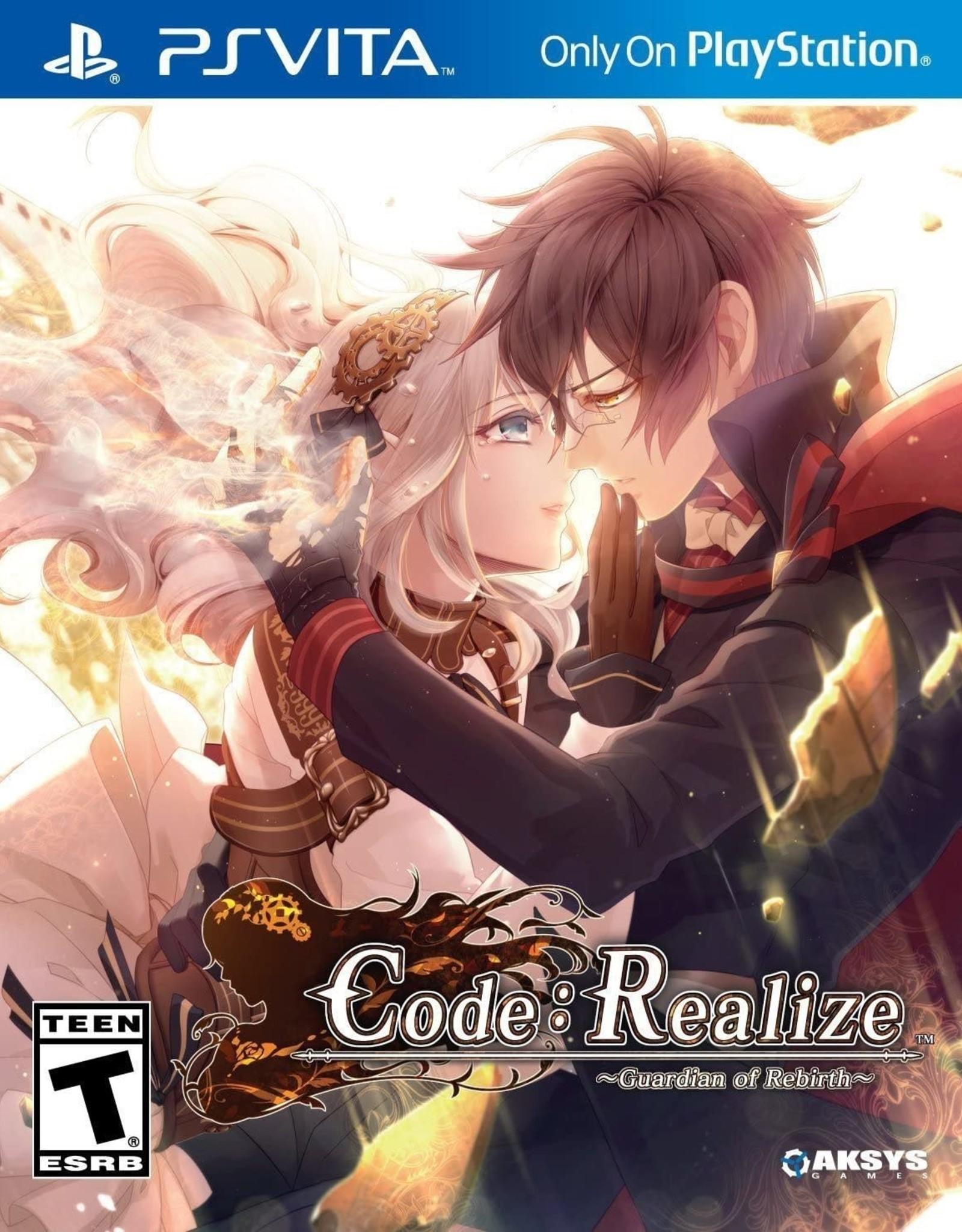 Playstation Vita Code: Realize Guardian of Rebirth (Used)