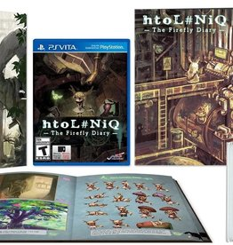 Playstation Vita Yomawari Night Alone & htol#niq: The Firefly Diary Limited Edition (BRAND NEW)