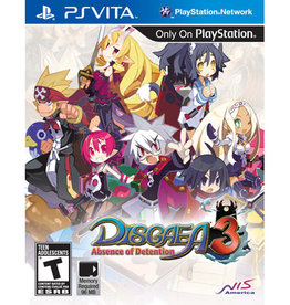 Playstation Vita Disgaea 3 Absence of Detention (Sealed)