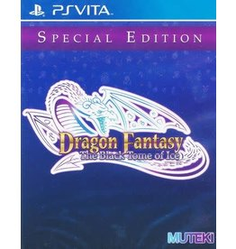 Playstation Vita Dragon Fantasy: The Black Tome of Ice (Sealed, LRG# 19)