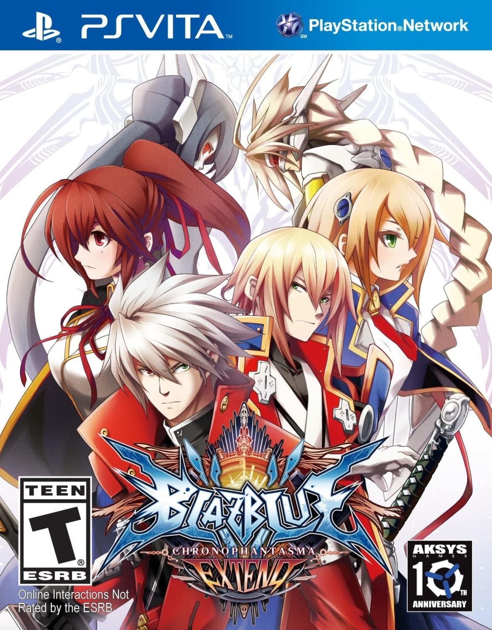 Playstation Vita BlazBlue: Chrono Phantasma Extend (Sealed)