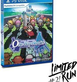 Playstation Vita Mystery Chronicle One Way Heroics (Sealed, LRG# 21)