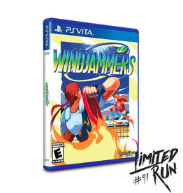 Playstation Vita Windjammers (Sealed, LRG# 91)