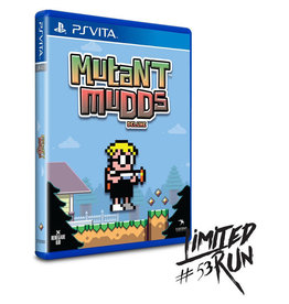 Playstation Vita Mutant Mudds Deluxe (Sealed, LRG# 53)