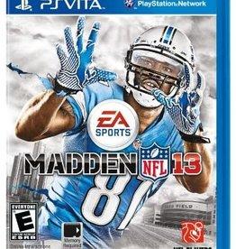 Playstation Vita Madden NFL 13 (New Sealed)