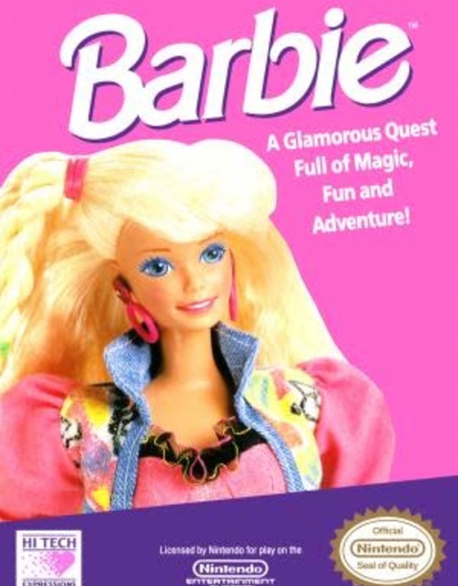 NES Barbie (Cart Only)
