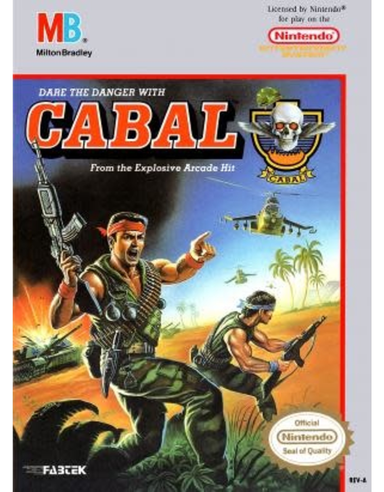 NES Cabal (Cart Only)