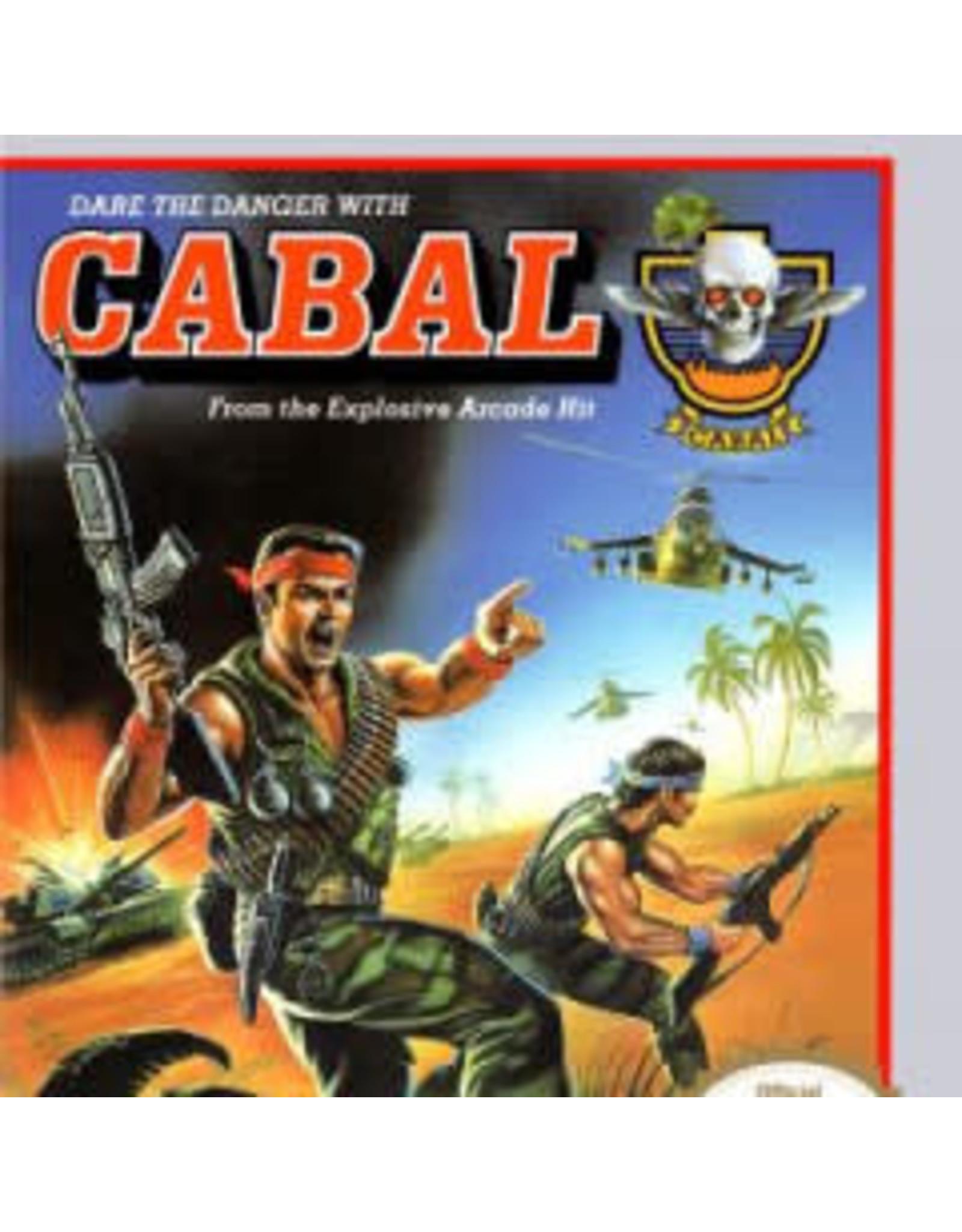 NES Cabal (Cart Only, Damaged Label)