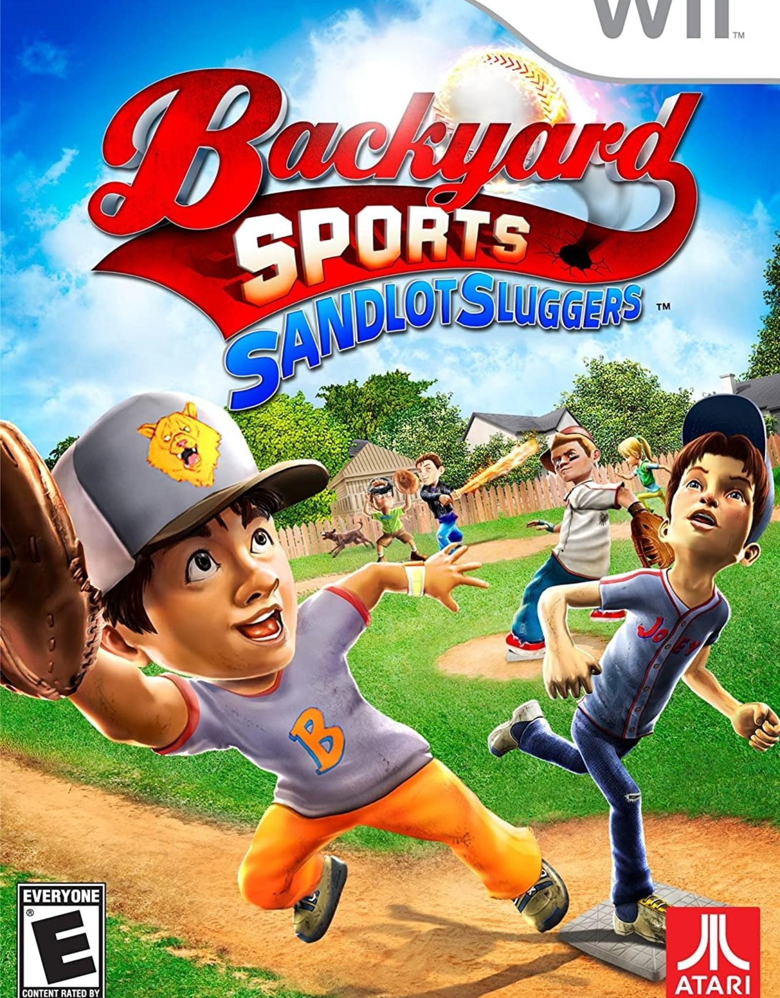 Wii Backyard Sports: Sandlot Sluggers (CIB)