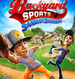 Wii Backyard Sports: Sandlot Sluggers (CIB)