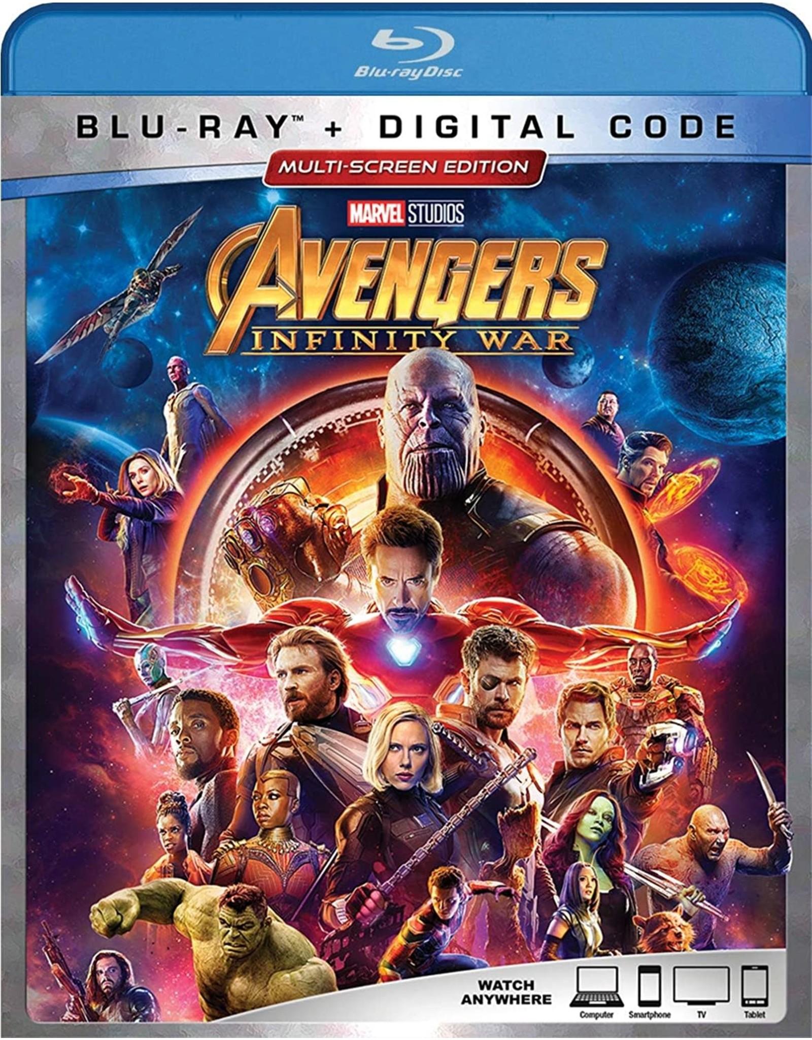 New BluRay Avengers Infinity War (Brand New)