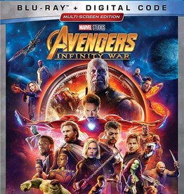 New BluRay Avengers Infinity War (Brand New)