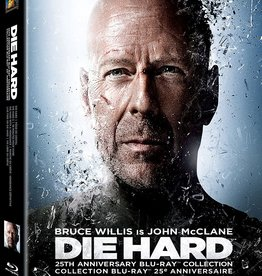 New BluRay Die Hard 25th Anniverary BluRay Collection (Brand New)