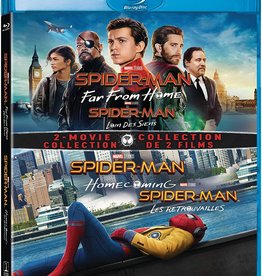 New BluRay Spider-Man: Far From Home/Homecoming Collection (Brand New)