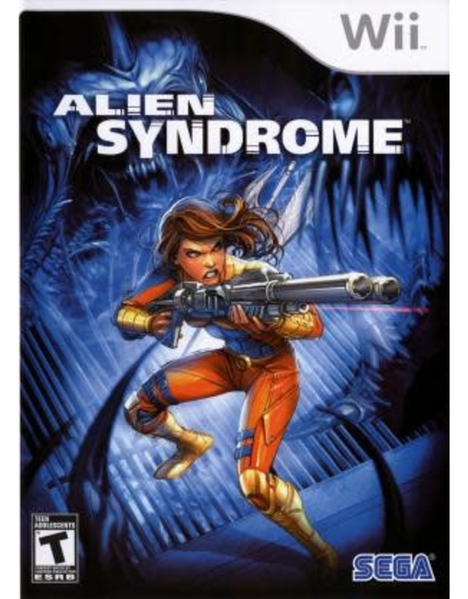 Wii Alien Syndrome (CIB)