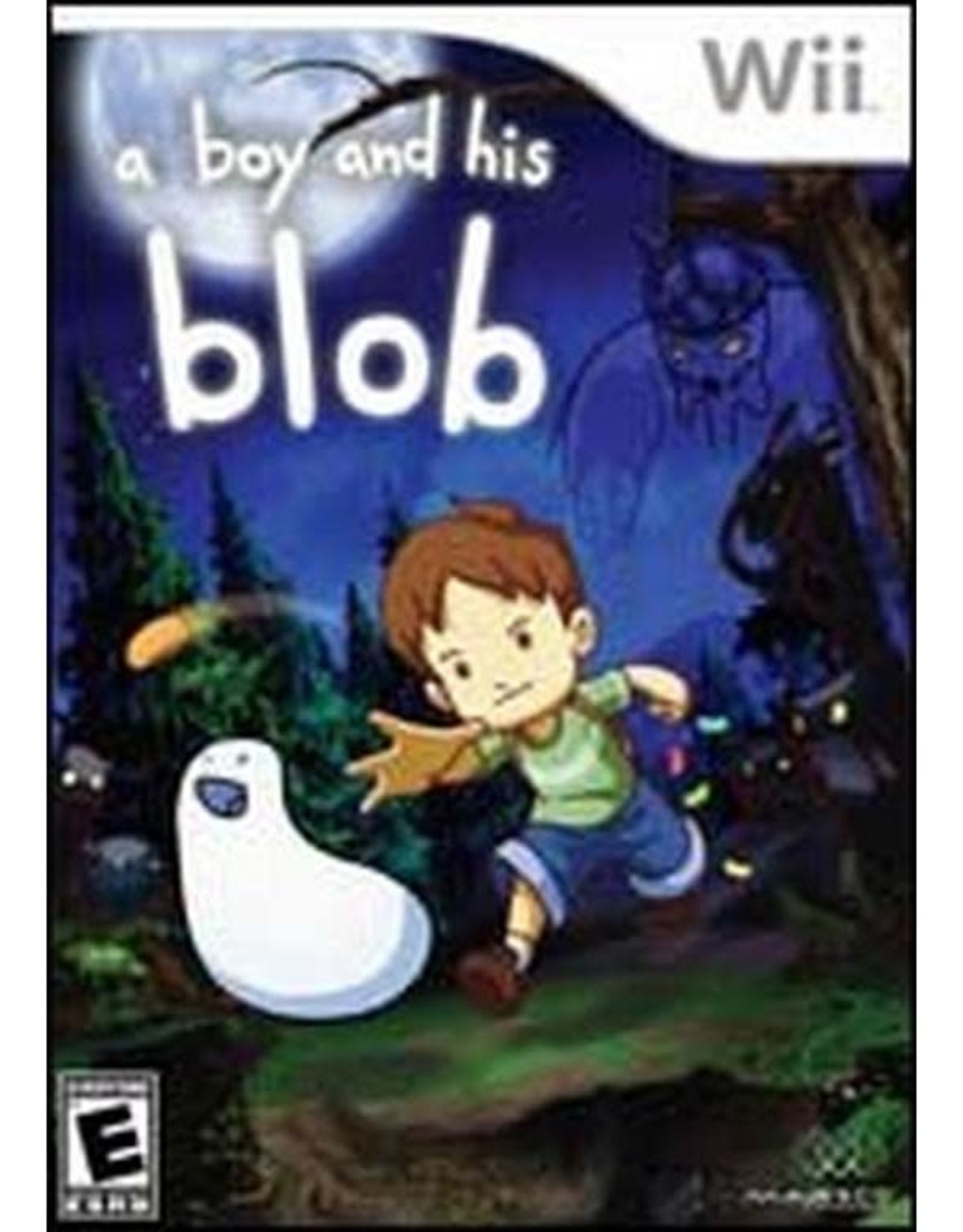 Wii A Boy and His Blob