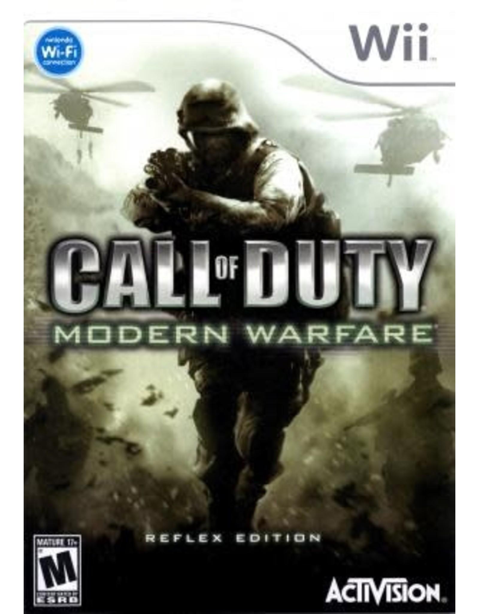 Wii Call of Duty Modern Warfare Reflex Edition (CiB)