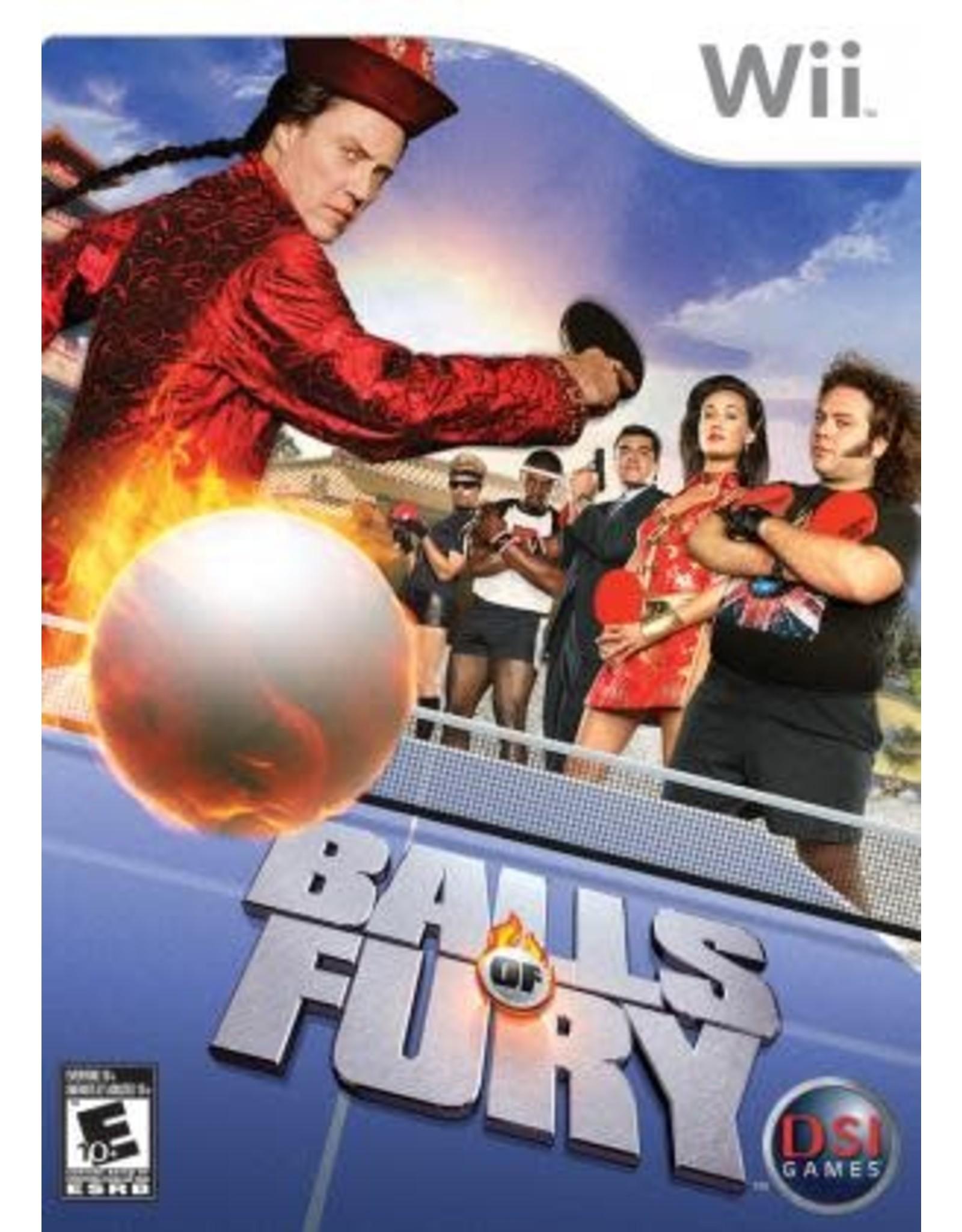 Wii Balls of Fury