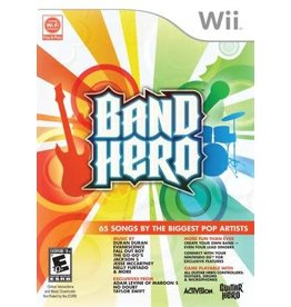 Wii Band Hero (CiB)