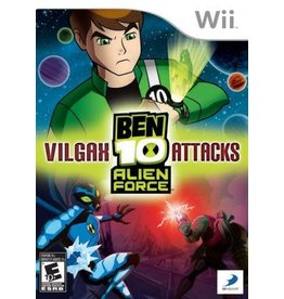Wii Ben 10: Alien Force: Vilgax Attacks (CiB)