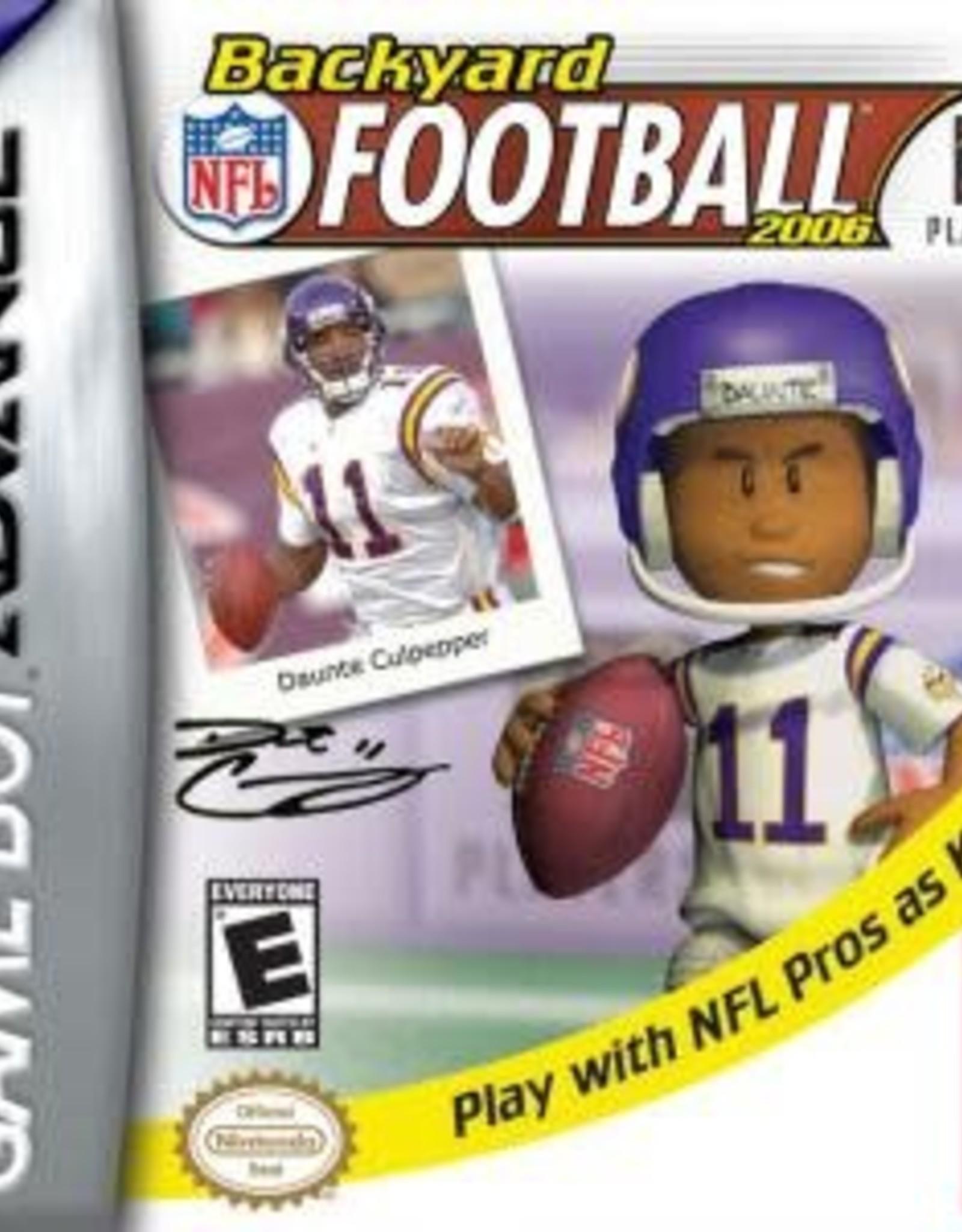 GameBoy Advance Backyard Football 2006 (Cart Only)