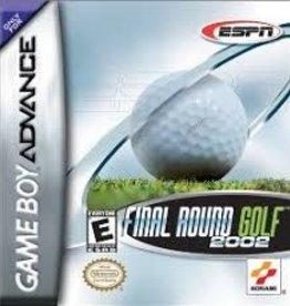 GameBoy Advance Final Round Golf 2002 (Cart Only)