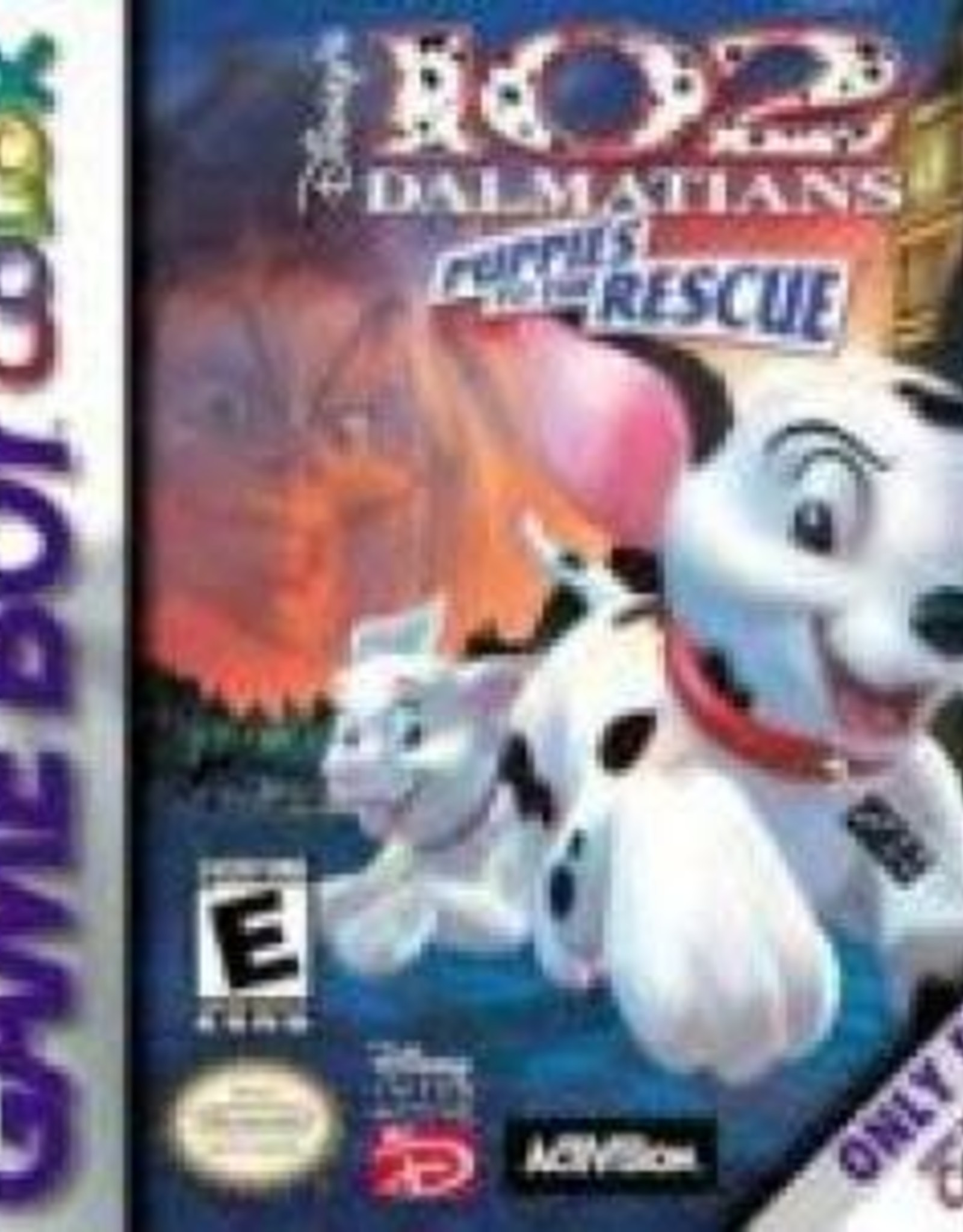 GameBoy Color 102 Dalmatians Puppies to the Rescue (Cart Only)