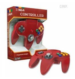 Nintendo 64 N64 Nintendo 64 Controller (Cirka, Red)