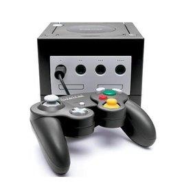 Gamecube GameCube Console (Black, Black Controller, Used)
