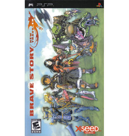 PSP Brave Story New Traveler (Without Manual)