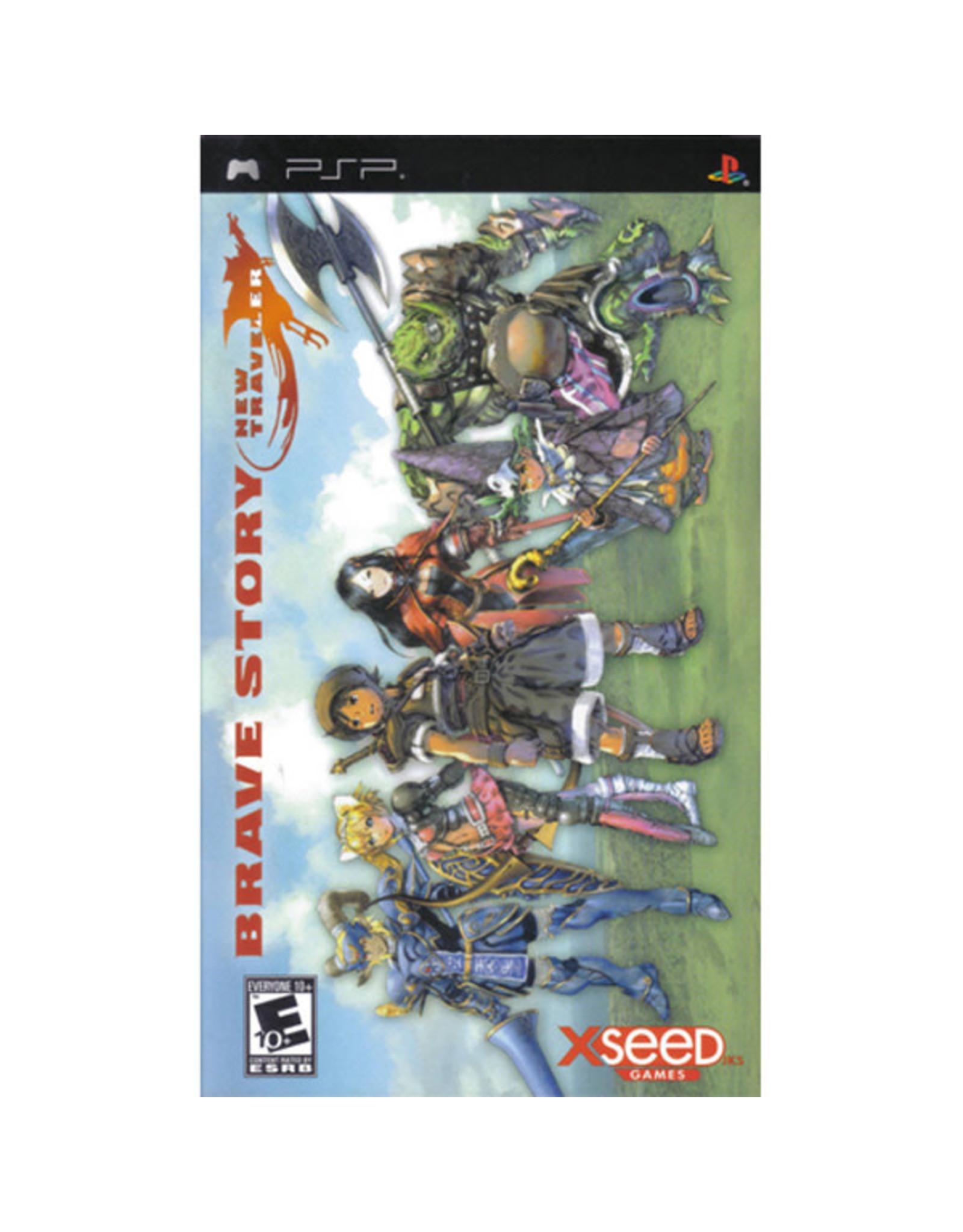 PSP Brave Story New Traveler (CIB)