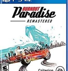 Playstation 4 Burnout Paradise Remastered