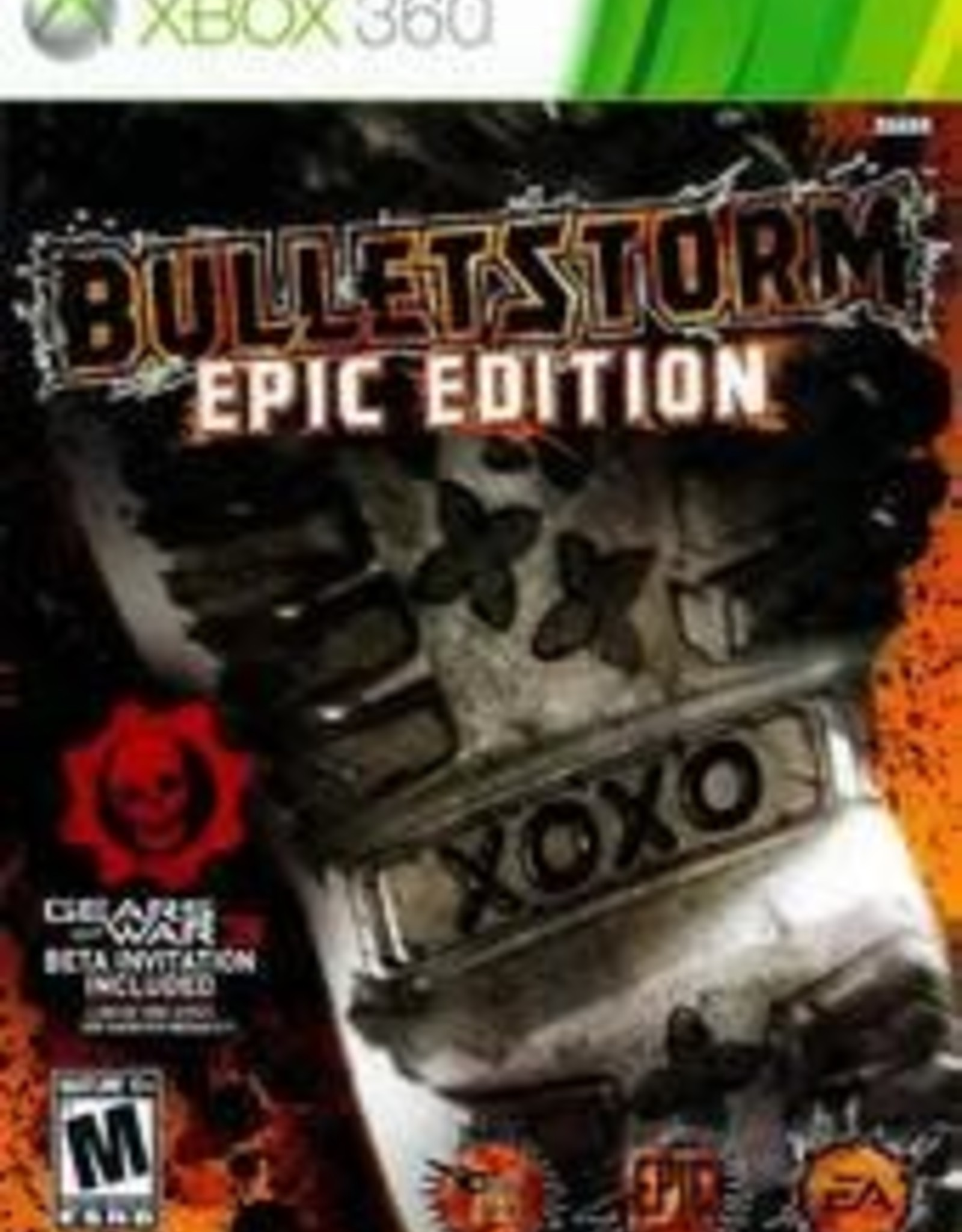 Xbox 360 Bulletstorm Epic Edition (No DLC)