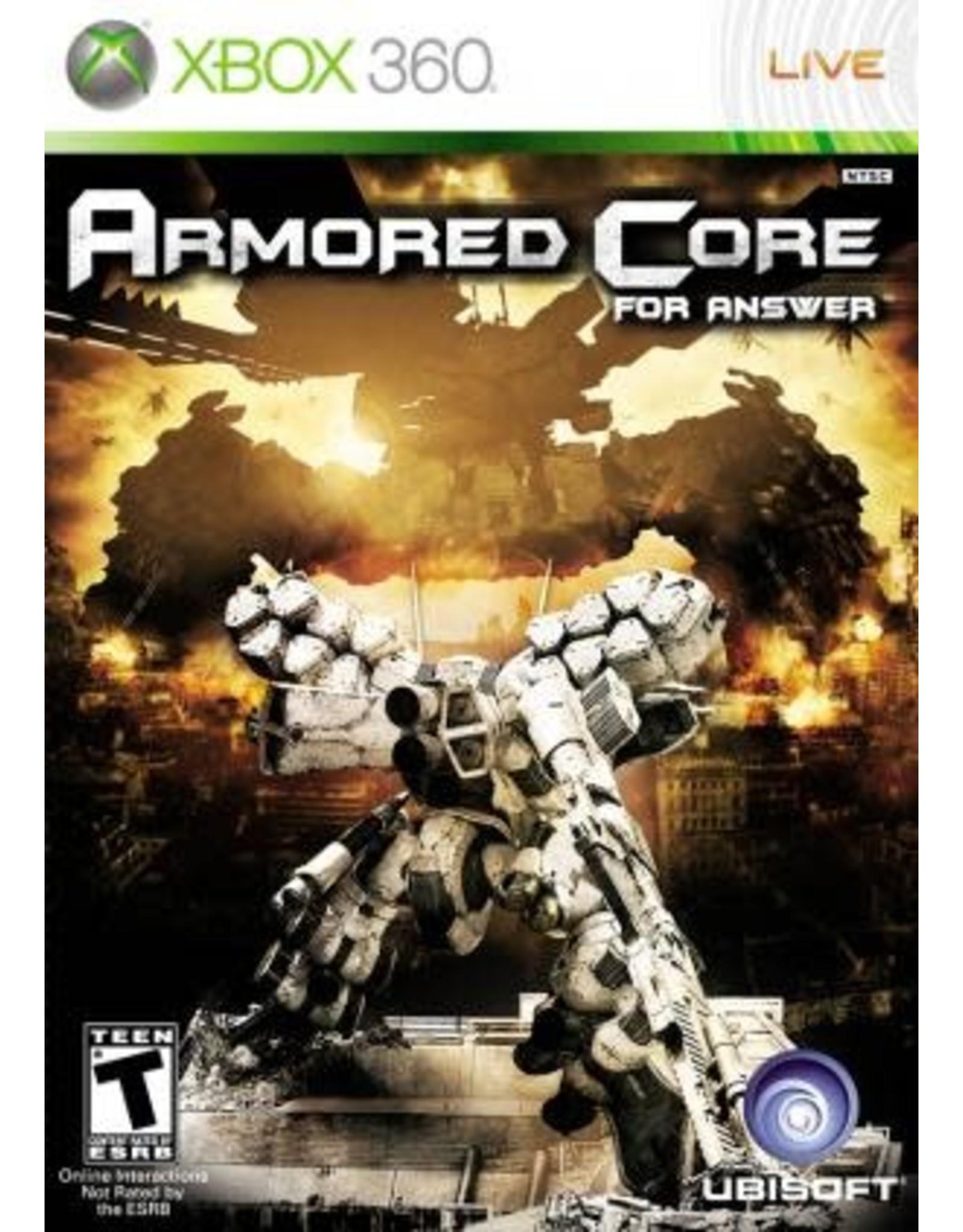 Xbox 360 Armored Core For Answer (CiB)