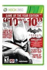 Xbox 360 Batman: Arkham City Game Of The Year (Platinum Hits, CiB)