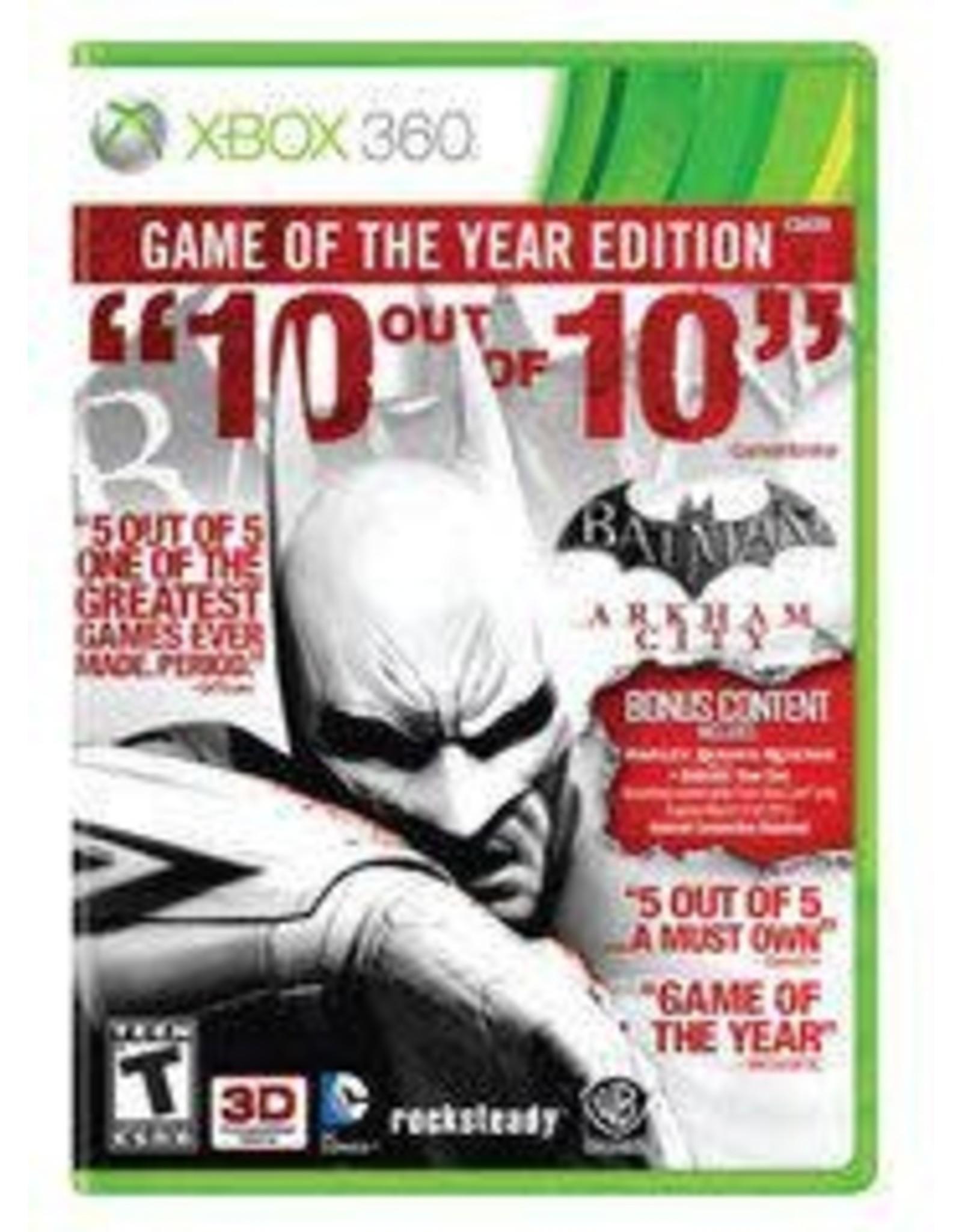 Xbox 360 Batman: Arkham City Game Of The Year (CiB)