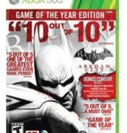 Xbox 360 Batman: Arkham City Game Of The Year