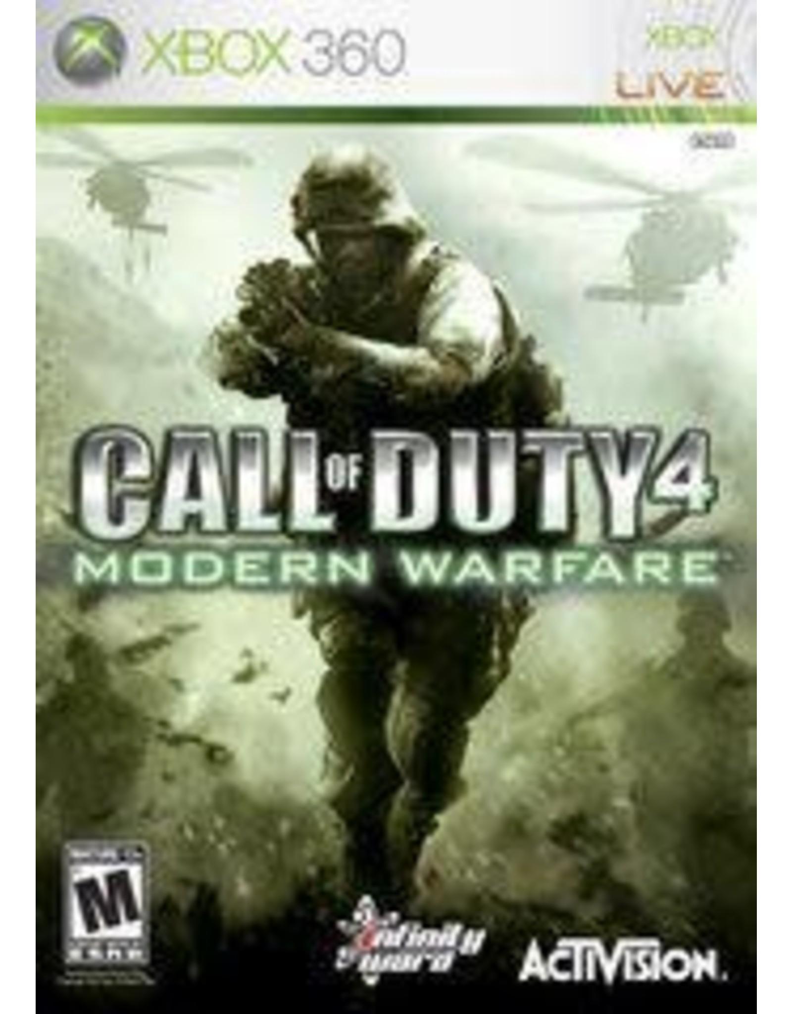 Xbox 360 Call of Duty 4 Modern Warfare (CiB)