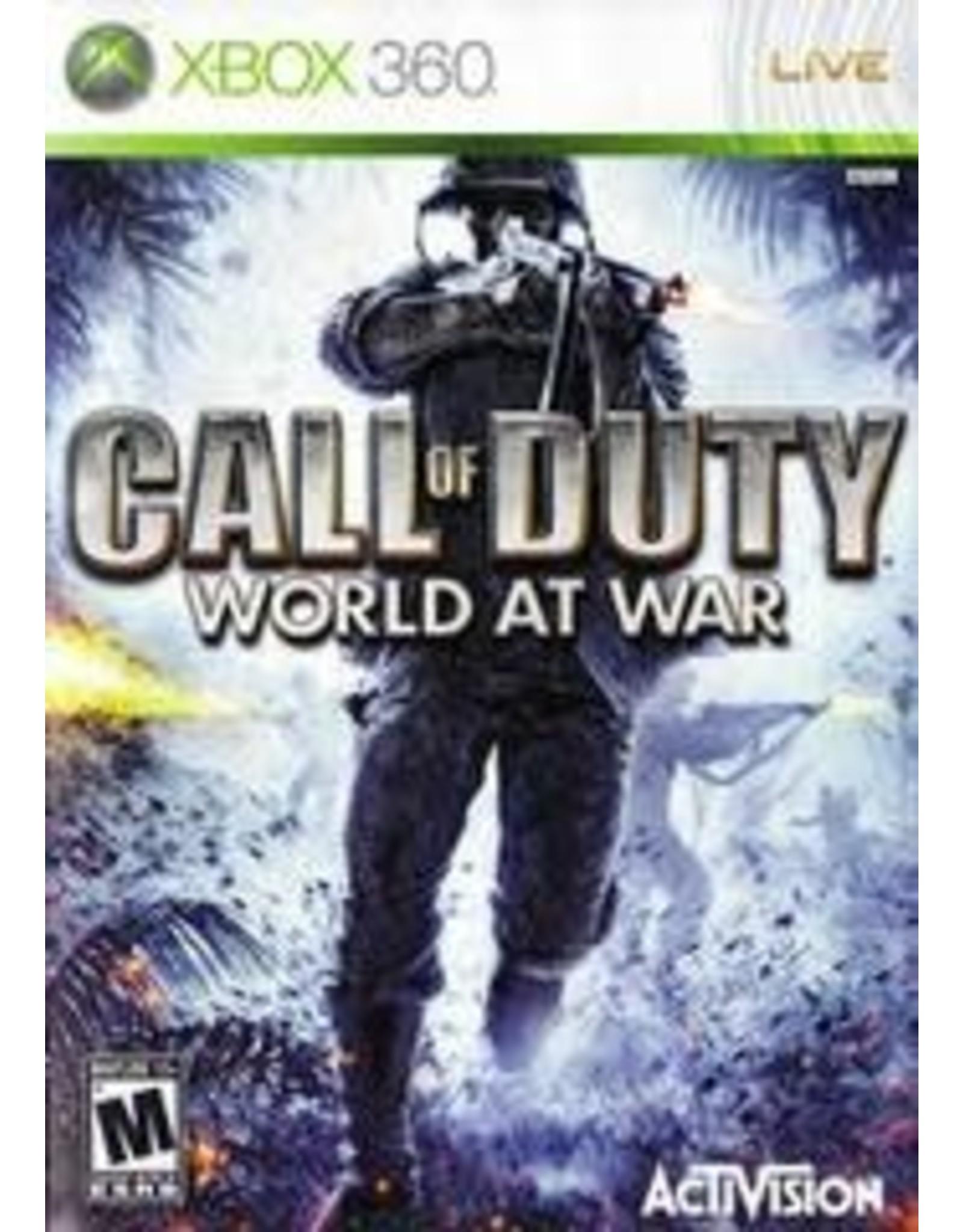 Xbox 360 Call of Duty World at War (CiB)