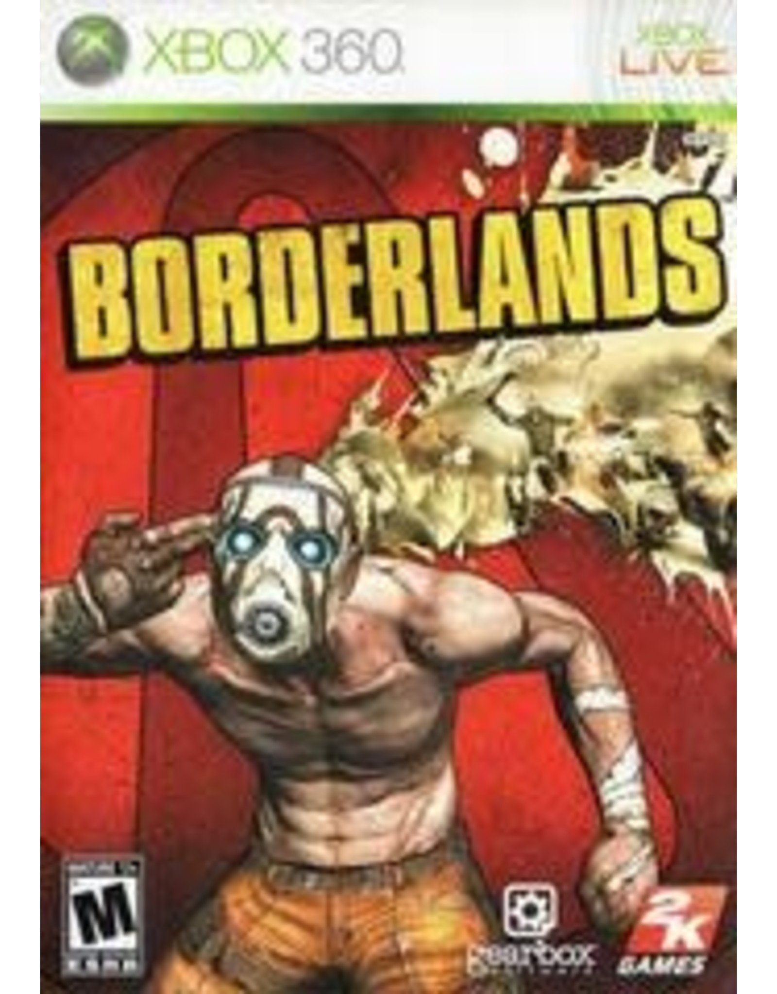 Xbox 360 Borderlands (CiB)