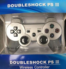 PS3 Playstation 3 Doubleshock III Controller (Silver)