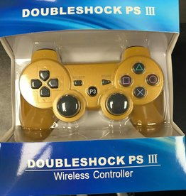 PS3 Playstation 3 Doubleshock III Controller (Gold)