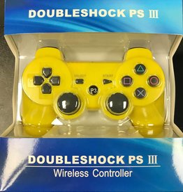 PS3 Playstation 3 Doubleshock III Controller (Yellow)