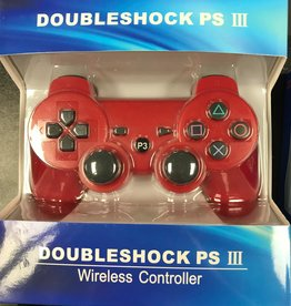 PS3 Playstation 3 Doubleshock III Controller (Red)