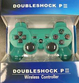 PS3 Playstation 3 Doubleshock III Controller (Green)